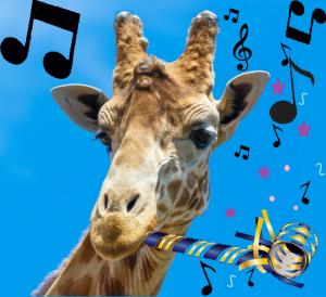 giraffe new year